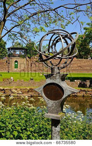 Jupiter sculpture, Tamworth.