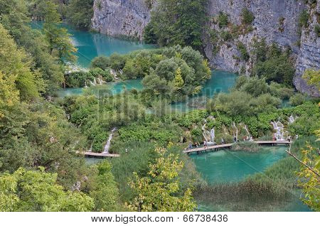 Pltvice Lakes In Croatia