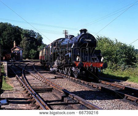 Steam train, Highley.