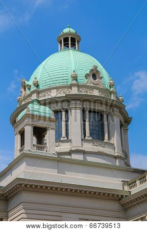 Parliament Building In Belgrade