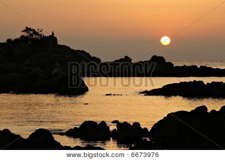 Sunrise At Corsica
