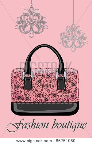 Women's Handbags With And Chandeliers.paisley Ornament