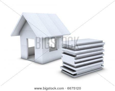 Polystyrene House