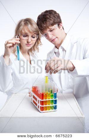 arbeiten Wissenschaftler