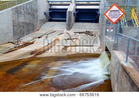 Bond Falls Flowage Dam