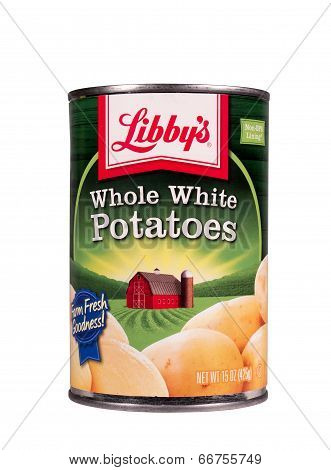 Whole White Potatoes