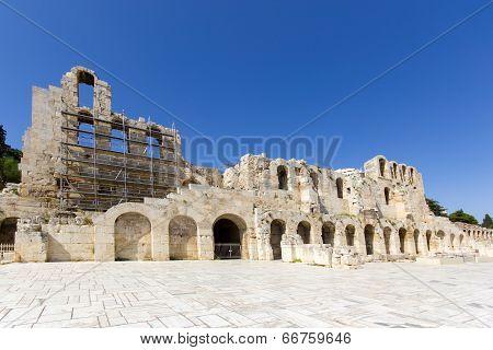 Monuments In Athens Around Acropolis