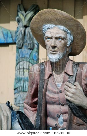 Old Prospector Statue