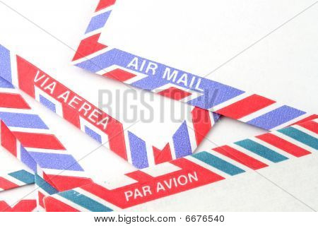 Air Mail Envelopes In Different Languages