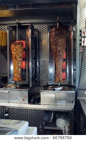 Two doner kebabs