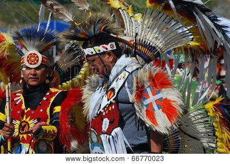 Ft Mcdowell, Arizona, April 5, 2014, Usa Pow Wow Celebration,editorial