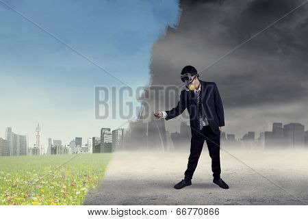 Businessman Changes The City