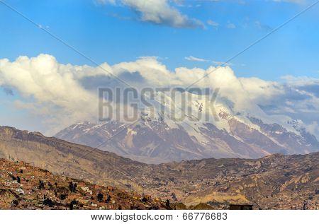 La Paz, Bolivia - mountains