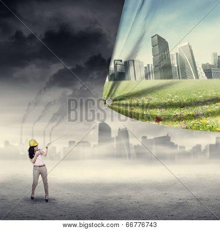 Environment Saving Concept