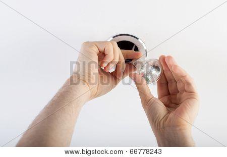 Fixing A Bulb