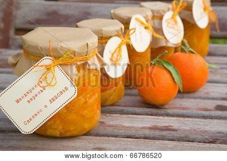 Handmade Tangerine Marmalade