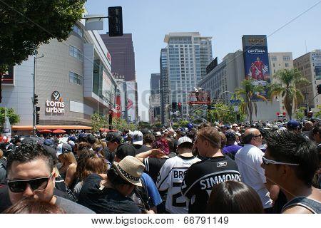 LA KINGS Championship Parade 2014