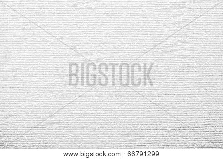 Corrugated Texture Of White Color With Stamping