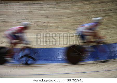 Bicycle Race Velodrome