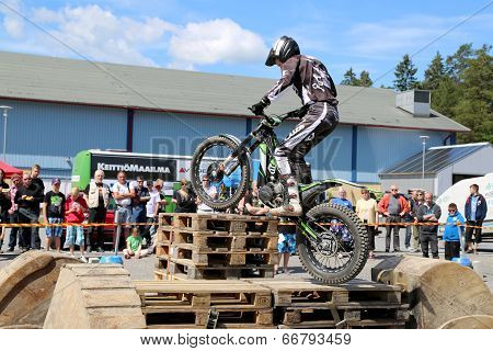 Motorcycle Trials By Timo Myohanen