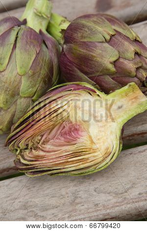 Two And A Half Artichoke