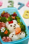 pic of lunch box  - Bento box with school lunch for kids