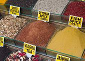 picture of viagra  - colorful spices on a market in istanbul - JPG