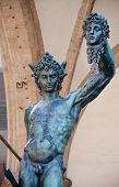 image of beheaded  - Statue of perseus with head in hand - JPG