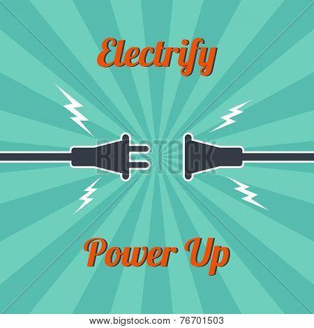 Electricity Vintage Theme