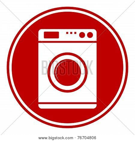 Washing Machine Button vector