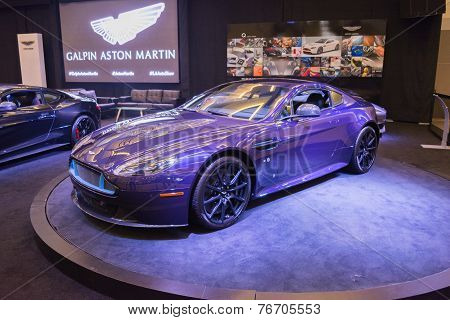 Aston Martin V12  Vantage S On Display