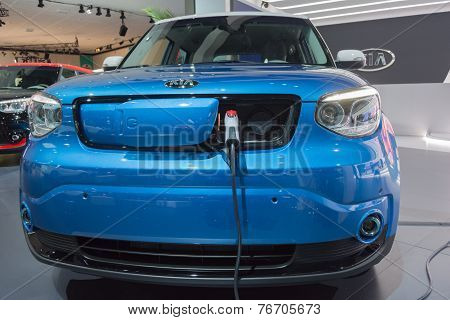 Kia Soul Ev On Display