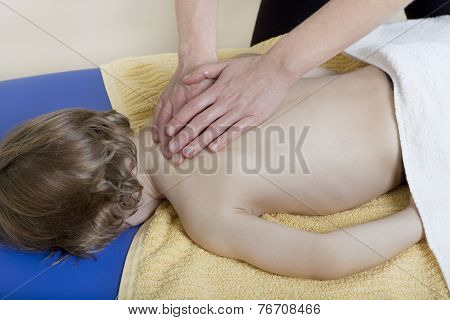 Physiotherapy With Child