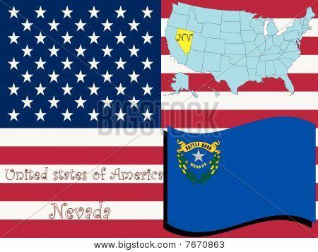 Ilustración del estado de Nevada