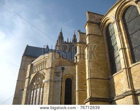 Canterbury Cathedral (Side Shot)