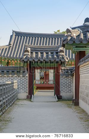 Seoul, Korea - September 20, 2014: Detail Of Changdeokgung