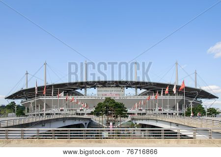 Seoul, Korea - October 04, 2014: World Cup Stadium In Seoul
