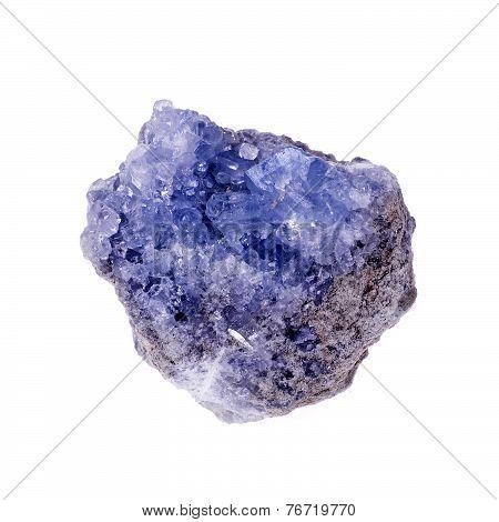 Celestine mineral