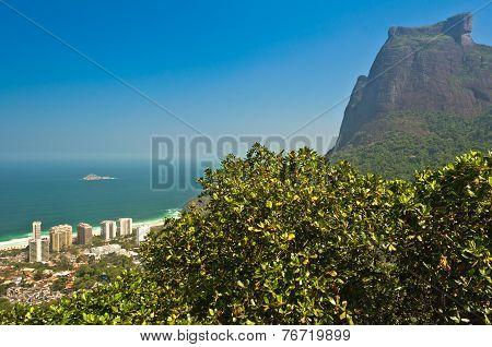 Rio de Janeiro Mountain Landscape