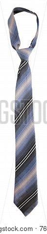 Striped Gray Tie