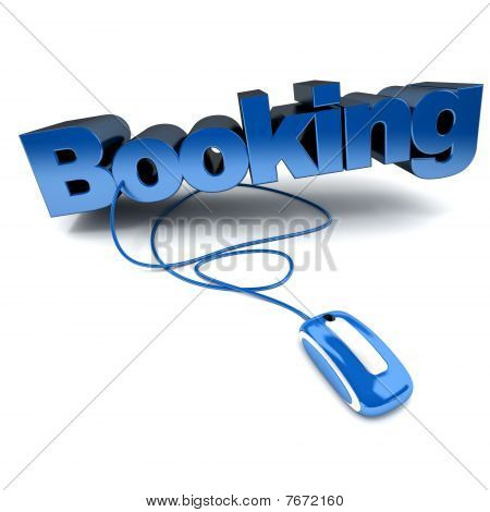 Online Booking Blue