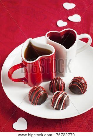 Handmade Chocolate Truffles For Valentines Day