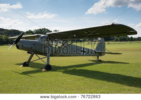 Vintage German Fieseler Storch Aircraft