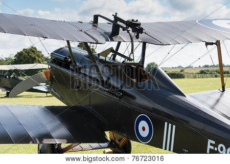 Vintage British Fighter Aircraft Raf Se5A