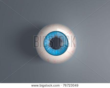 3D Render Eyeball