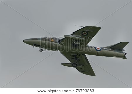 Vintage British Hawker Hunter T7
