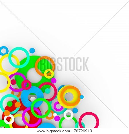 Colorful Isolated Modern Background