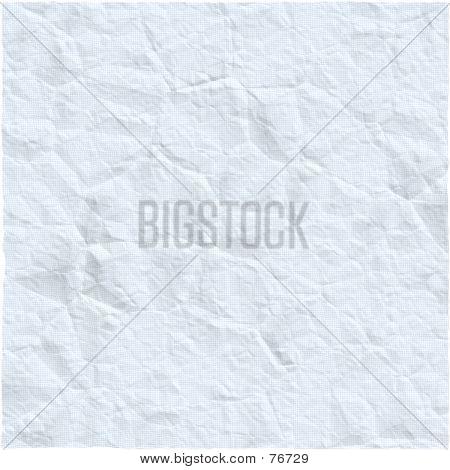 Crumpled Garph Paper