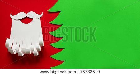 Santa Claus Conceptual Background