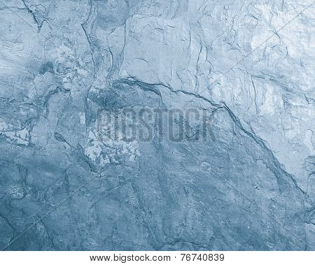 Blue Stone Surface